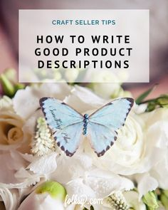 In this post we share our tips for writing product descriptions plus we also have links to past blog posts which can further help you with advice on listing