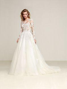 Vestido de noiva de conto de fadas - Drizana