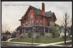Winona-Minnesota-Bishop Cotter Residence-Antique Postcard | eBay