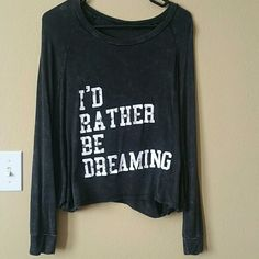 HP Batwing top(: Worn a few times. Because of the batwing part, it fits like a crop top almost. Deb Tops Tees - Long Sleeve