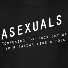 """""""Gaydar"""" is a bullshit concept, but I laughed. #asexuality"""