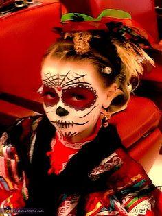 La Catrina - Homemade costumes for girls