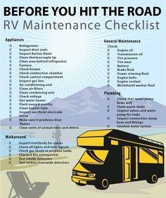 RV Checklist, wanderlust, camping, travel, camper vans, van rebuilds #rvcampingchecklist #rvcamperchecklist