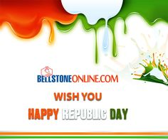 Bellstone Online Wish You A Very #Happy #Republic #Day.
