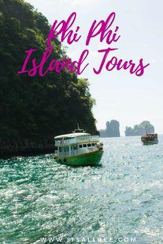 Phi Phi Island Tour | Exploring Loh Samah Bay And Maya Bay