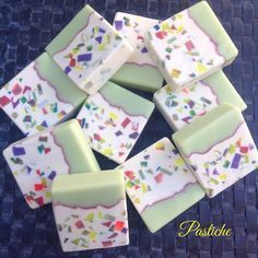 """Pastiche"" goat milk soap #goatsmilksoap #homemade #artisansoap #erb…"