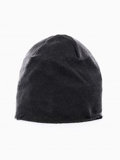 Cashmere beanie from the F/W2013-14 10sei0otto collection in black.