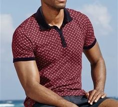 Printed Polo Shirt by Next