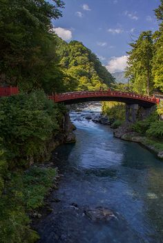The Sacred Bridge, part of the Futarasan Shrine, Nikko, Tochigi, Japan  www.liberatingdivineconsciousness.com