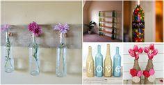 Le bottiglie di vino esistono di varie forme, colori e dimensioni, e questa diversità le rende oggetti versatili quando si tratta di riciclo e riutilizzo.