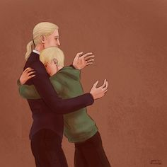 If you could understand Lucius!—Draco and Scorpius Harry Potter Artwork, Harry Potter Draco Malfoy, Harry Potter Drawings, Harry Potter Tumblr, Harry Potter Anime, Harry Potter Wallpaper, Harry Potter Fandom, Harry Potter Characters, Harry Potter World