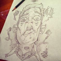 Random sketches from my lunch breaksinstagram.com/absorb81