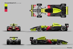 Formula Renault 2.0 Livery & Advertisment on Behance