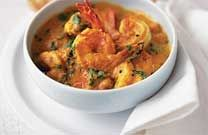 recette de recette Curry de crevettes avec companion