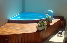 clubLuxury Pool Designs, designs luxury pool designs luxury Fiber Pool: Check out incredible models to choose fromFiber Pool: Check out incredible models to choose fromSmall leisure Small Swimming Pools, Small Backyard Pools, Small Pools, Mini Pool, Patio Chico, Mini Piscina, Hot Tub Garden, Balkon Design, Jacuzzi Outdoor