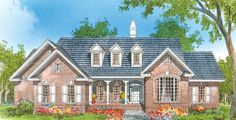 The Devon House Plan