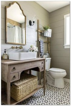 Gorgeous Urban Farmhouse Master Bathroom Makeover 23