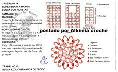 Alkimia: BLUSA DE CROCHÊ COM GRÁFICO