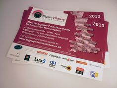 Leaflets for the Bigger Picture Roadshow