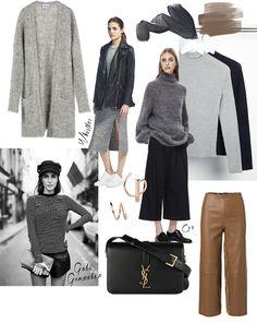 Minimalistic wardrobe inspiration. Moodboard by Fashionweek 2.0.