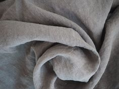 Pure 100% linen fabric stone washed linen soft by ButoniDesign