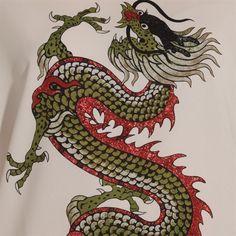 T-shirt blanc dragon #Exotic #Mix #Pimkie