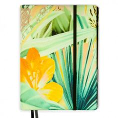 "Bethge | A digital and analogue notebook called ""Whitebook"". Cover selected by Bethge. Tropical look."