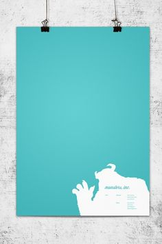 """""""Monsters Inc."""" poster by Wonchan Lee"""