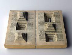 Book Art, by Ryuta Iida