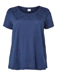 Nice blue t-shirt for both party and everyday use!