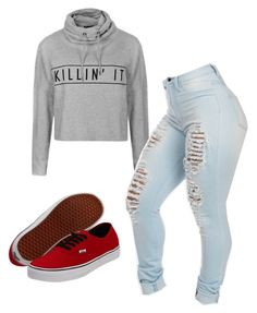 """got my phone stolen -.-"" by jeyr209 ❤ liked on Polyvore featuring Ally Fashion and Vans"