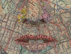 Making Art From Maps - Cool Stuff - ShortList Magazine
