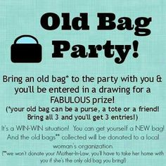 Fun Thirty-One party idea