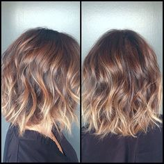 Color by me, Haircut by @garethbromell @jonathanandgeorge #brunette #highlights #oneprocesscolor #naturalombre #naturalhaircolor #beachyhaircolor #beachwaves #beautifulhair #beautifulhaircolor #hairtalk #haircolorbykatherinehyde