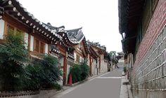 @ Bukchon Hanok village, Seoul, Korea ; 북촌 골목길