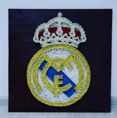 Real Madrid   50x50cm  #ARTEFACT  . . .  #stringart #instaart #craft #handcrafted #dailyart #handmade #realmadrid #football #best #team #wood #woodworking #creative #art #artwork #homedecor #decoration #gift #cadou