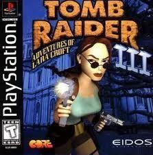 Tomb Raider III (3) - PS1 Game