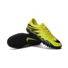 watch 6a0cf 450f0 Nike Hypervenom Phelon II TF - Volt-Negro-Hyper Turquoise zapatillas de  fútbol baratas