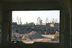 one of building in Gdansk shipyard