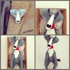 Greyhound Art, Italian Greyhound, Dog Crafts, Felt Crafts, Christmas Dog, Christmas Crafts, Merry Christmas, Handmade Crafts, Handmade Dolls
