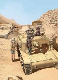 Safebooru is a anime and manga picture search engine, images are being updated hourly. Anime Military, Military Girl, Guerra Anime, Anime Krieger, Military Drawings, Anime Warrior, World Of Tanks, Girls Frontline, Tank Girl