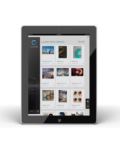 Clusterr iPad App (reissue 2012 on Behance