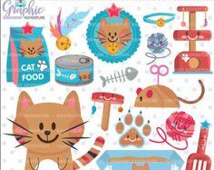30% DE VENTA gatitos Digital Imágenes Prediseñadas por LittleMoss
