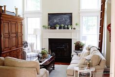 Finding Fall Home Tour – Fall Decorating Ideas - Finding Home--2014