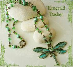 Emerald Dasher  https://www.facebook.com/onceuponaromancejewellery