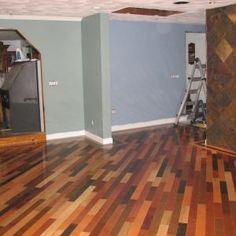 multi colored wood flooring - Multi Colored Hardwood Floor