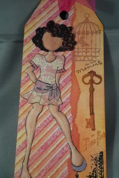 Tag/Card Chiara  - Julie Nutting by CreativeEmbers on Etsy