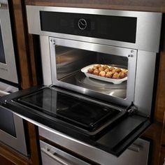 Jennair Stainless Sd Oven Jmc2430ws Installed