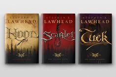 The King Raven Trilogy by Stephen Lawhead. A less romanticized look at Robin Hood. Loved them!