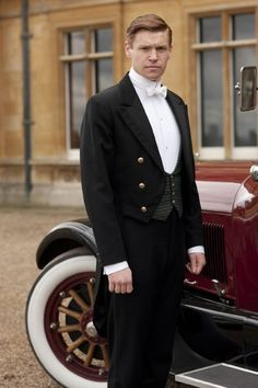 Matt Milne as Downton Abbey's Alfred Nugent